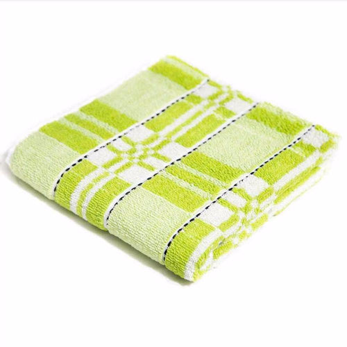 Green Microfiber Cotton Towels – Export Quality – 20