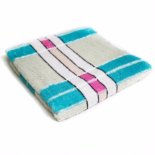 Blue Cotton Hand Towels – Export Quality – 24