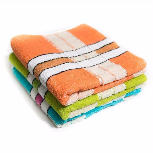 Pack Of 3 – Cotton Hand Towel – Export Quality – 24
