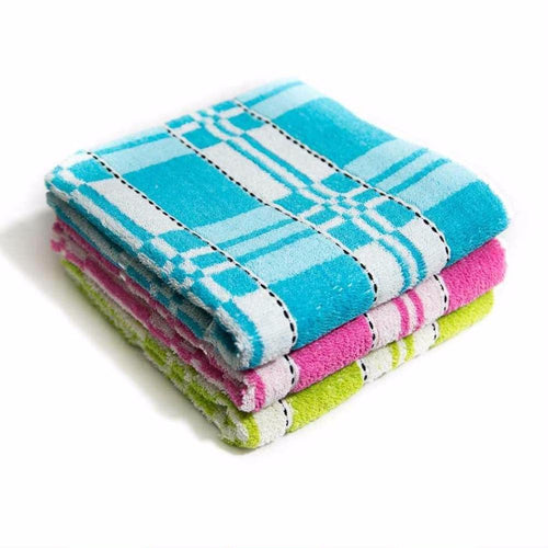 Pack Of 3 – Microfiber Cotton Towels – Export Quality – 20