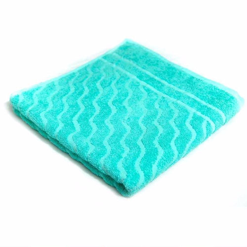 Green Cotton Hand Towel – Export Quality – 25