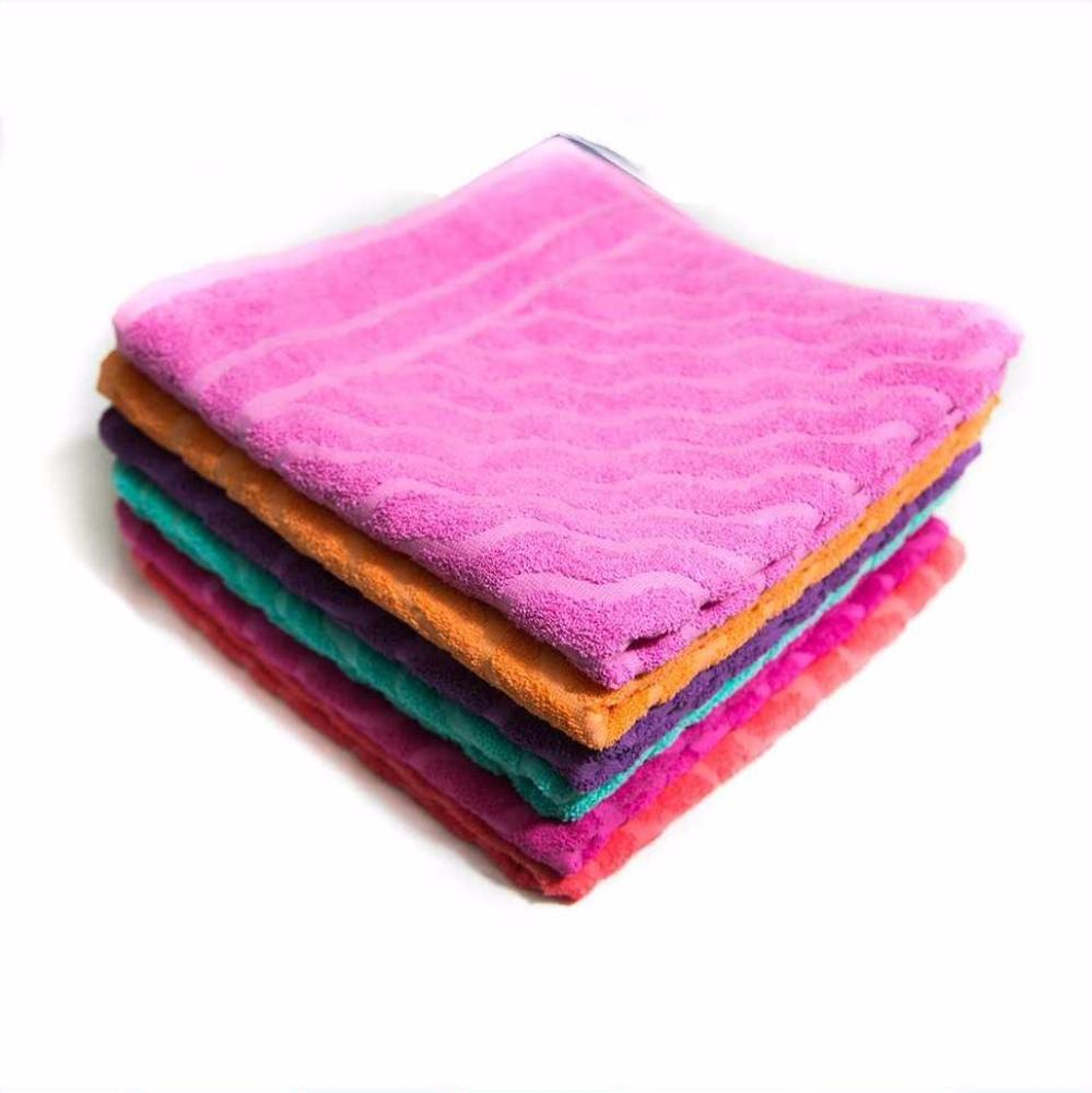 "Pack Of 3 – Plain Design Cotton Hand Towel – Export Quality – 25"" X 50"" - Towel - diKHAWA Online Shopping in Pakistan"