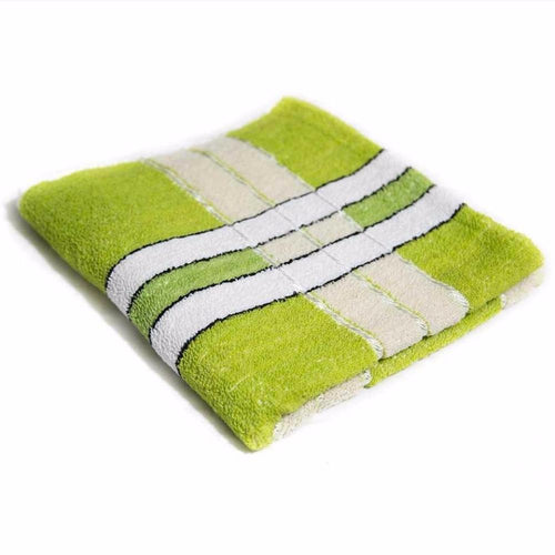 Green Cotton Hand Towels – Export Quality – 24