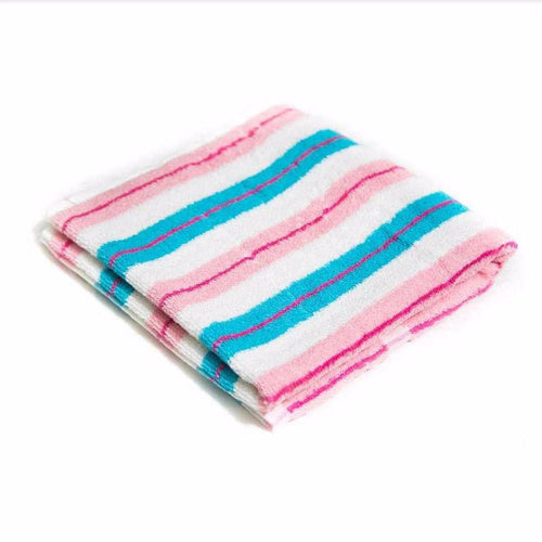 Colourful Strips Microfiber Cotton Towels – Export Quality – 20