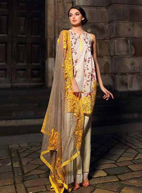 Sobia Nazir Lawn Suit