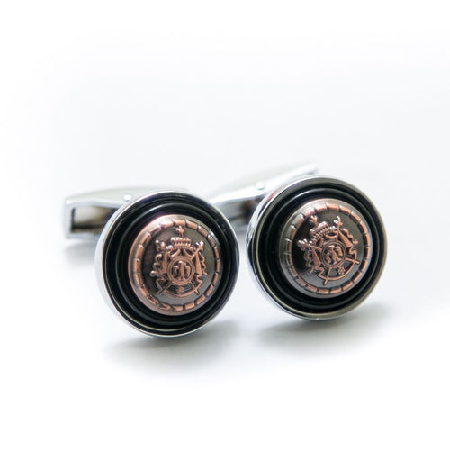 Antique Rounded Cufflinks For Men