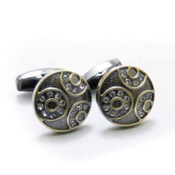 Buy Antique Cufflinks For Mens Wedding Shirt – Rounded & Round With Diamond Online in Karachi, Lahore, Islamabad, Pakistan, Rs.600.00, Cufflinks Online Shopping in Pakistan, JStyle, Best Gift for Men, Branded Cufflinks, Buy Mens Cufflinks, Buy Mens Cufflinks Online in Pakistan, Casual Cufflinks, cf-type-cufflinks, cf-vendor-jstyle, cufflink pakistan, cufflink shop, cufflinks online, cufflinks pakistan, cufflinks.com, cufflinks.com.pk, cufflinks.pk, Designer Cufflinks, Fancy Cufflinks, For Men, Formal Cufflinks, Mens Cuff Links, Mens Cufflink Online Shopping in Pakistan, Mens Cufflinks in Islamabad, Mens Cufflinks in Karachi, Mens Cufflinks in Lahore, Mens Cufflinks in Pakistan, Mens Cufflinks Online, Mens Cufflinks Online Shopping, Mens Gift Items, Office Cufflinks, Shop Mens Cufflinks, Wedding Cufflinks, Wedding Suit Cufflinks, diKHAWA Online Shopping in Pakistan