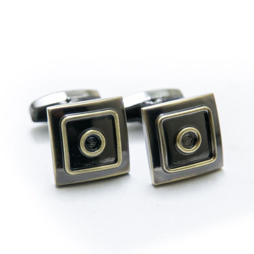 Antique Cufflinks For Mens Wedding Shirt – Square & Square - Cufflinks - diKHAWA Online Shopping in Pakistan