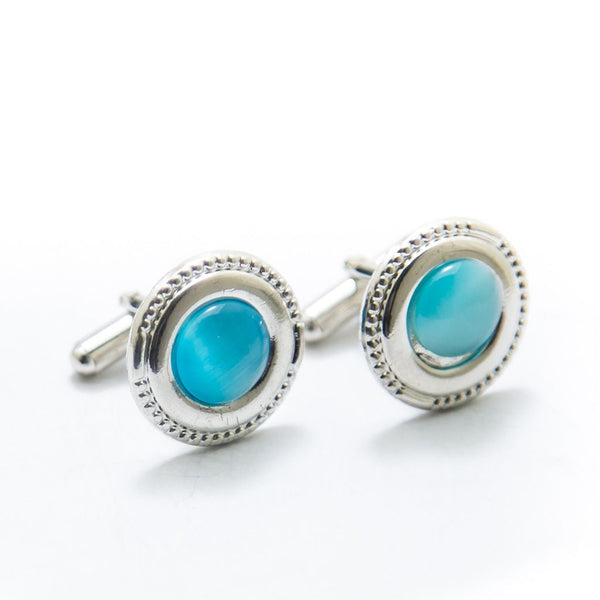 Buy Mens Cufflinks With Blue Gemstone – Rounded Online in Karachi, Lahore, Islamabad, Pakistan, Rs.250.00, Cufflinks Online Shopping in Pakistan, JStyle, Best Gift for Men, Branded Cufflinks, Buy Mens Cufflinks, Buy Mens Cufflinks Online in Pakistan, Casual Cufflinks, cf-type-cufflinks, cf-vendor-jstyle, cufflink pakistan, cufflink shop, cufflinks online, cufflinks pakistan, cufflinks.com, cufflinks.com.pk, cufflinks.pk, Designer Cufflinks, Fancy Cufflinks, Formal Cufflinks, Mens Cuff Links, Mens Cufflink Online Shopping in Pakistan, Mens Cufflinks in Islamabad, Mens Cufflinks in Karachi, Mens Cufflinks in Lahore, Mens Cufflinks in Pakistan, Mens Cufflinks Online, Mens Cufflinks Online Shopping, Mens Gift Items, Office Cufflinks, Shop Mens Cufflinks, Wedding Cufflinks, Wedding Suit Cufflinks, diKHAWA Online Shopping in Pakistan