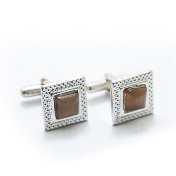 Buy Mens Cufflinks With Brown Gemstone – Square Online in Karachi, Lahore, Islamabad, Pakistan, Rs.250.00, Cufflinks Online Shopping in Pakistan, JStyle, Best Gift for Men, Branded Cufflinks, Buy Mens Cufflinks, Buy Mens Cufflinks Online in Pakistan, Casual Cufflinks, cf-type-cufflinks, cf-vendor-jstyle, cufflink pakistan, cufflink shop, cufflinks online, cufflinks pakistan, cufflinks.com, cufflinks.com.pk, cufflinks.pk, Designer Cufflinks, Fancy Cufflinks, Formal Cufflinks, Mens Cuff Links, Mens Cufflink Online Shopping in Pakistan, Mens Cufflinks in Islamabad, Mens Cufflinks in Karachi, Mens Cufflinks in Lahore, Mens Cufflinks in Pakistan, Mens Cufflinks Online, Mens Cufflinks Online Shopping, Mens Gift Items, Office Cufflinks, Shop Mens Cufflinks, Wedding Cufflinks, Wedding Suit Cufflinks, diKHAWA Online Shopping in Pakistan