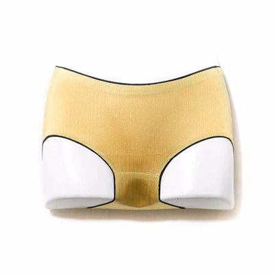 Soft Silk Panty - Golden Panty - Panty - diKHAWA Online Shopping in Pakistan