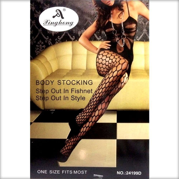 Kinghong Stocking 24199D - Body Stocking - diKHAWA Online Shopping in Pakistan