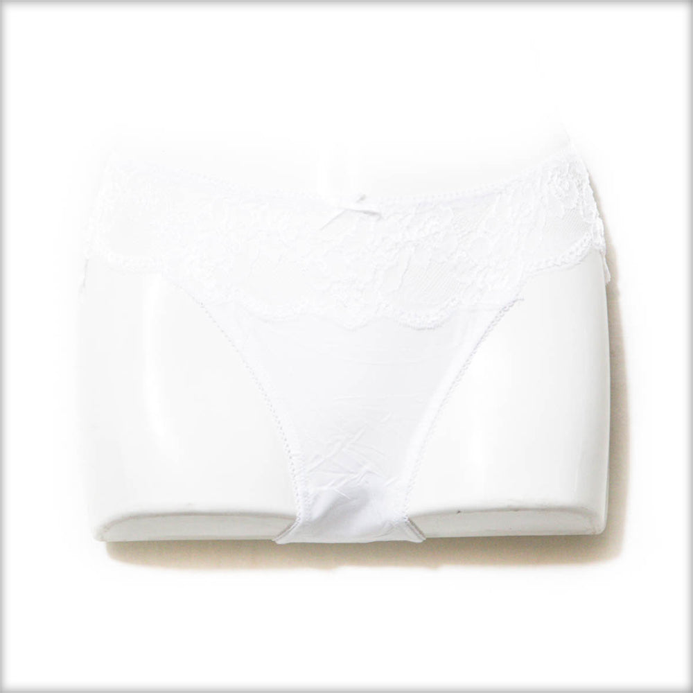 Pack of 2 Bridal White Colour Net Panty - Panty - diKHAWA Online Shopping in Pakistan
