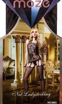 Net Lady Stocking MOZE - CPG-8805 - Body Stocking - diKHAWA Online Shopping in Pakistan