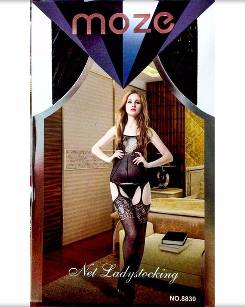 Buy Net Lady Stocking MOZE - CPG-8830 Online in Karachi, Lahore, Islamabad, Pakistan, Rs.700.00, Body Stocking Online Shopping in Pakistan, MoZe, best Body Stocking Body Brands in pakistan, Body Branded Body Stocking, Body lace teddy, body mesh teddy, body stocking 2017 collection, body stocking in gujranwala, body stocking in islamabad, body stocking in karachi, body stocking in lahore, body stocking in multan, Body Stocking in Pakistan, body stocking in rawalpindi, Body stocking online, Body Stocking online shopping, body stocking online shopping in faisalabad, body stocking online shopping in karachi, Body Stocking online shopping in p, diKHAWA Online Shopping in Pakistan