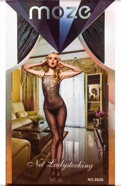 Net Lady Stocking MOZE - CPG-8826 - Body Stocking - diKHAWA Online Shopping in Pakistan