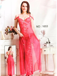 Buy 1653 - Long Net Nighty Sleeveless For Women Online in Karachi, Lahore, Islamabad, Pakistan, Rs.{{amount_no_decimals}}, Ladies Nighty Online Shopping in Pakistan, NIGHTYnight, baby doll nighties, baby doll nighty, babydoll, babydoll nighties, babydoll nighty, bridal, bridal nighties, Bridal Nightwear, Bridal Nighty, buy nighty, Clothing, fancy nighty, honeymoon nighties, Honeymoon Nighty, Lace Nighty, Lingerie & Nightwear, long nighty, Mega Sale, net nighties, net nighty, Nighties, Nighties in Pakistan, nighties online, Nightwear, Nighty in Islamabad, Nighty in Karachi, Nighty in Lahore, nighty online, Nighty Online Shopping in Pakistan, nighty pakistan, nighty shop, Online Shopping in Pakistan - diKHAWA Fashion