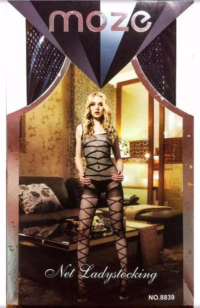 Net Lady Stocking MOZE - CPG-8839 - Body Stocking - diKHAWA Online Shopping in Pakistan