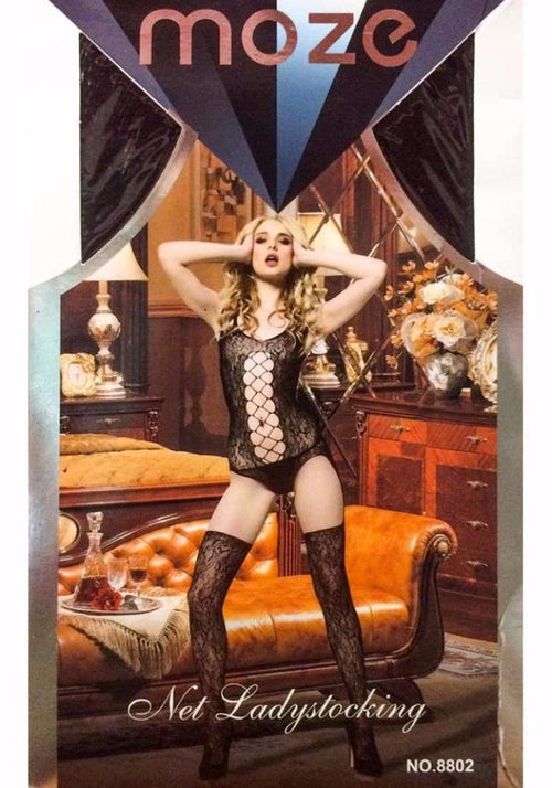 Net Lady Stocking MOZE - CPG-8802 - Body Stocking - diKHAWA Online Shopping in Pakistan