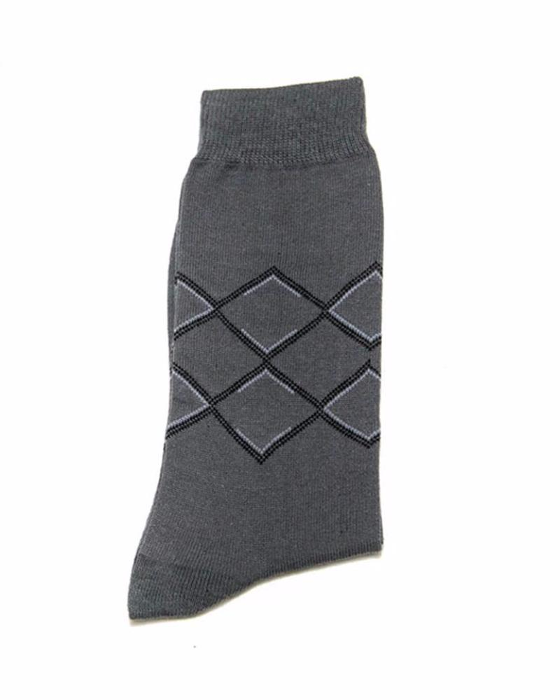 Socks For Men – Computerized Knitted Cotton Socks C – KL-14 - Mens Socks - diKHAWA Online Shopping in Pakistan
