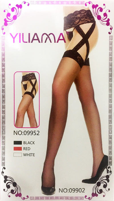 Yiliama Fashion Figured Painty Hose Sexy Leg Stocking-09902 - Leg Stocking - diKHAWA Online Shopping in Pakistan