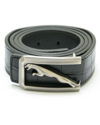 Jaguar Black Leather Belts For Men – MB1015