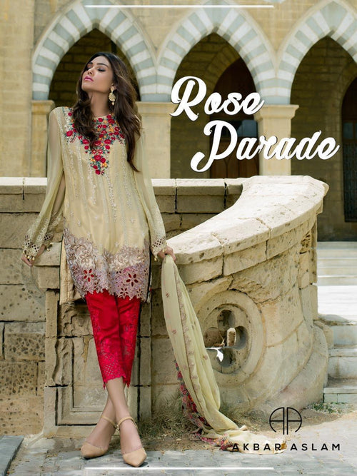 Rose Parade Chiffon Suit