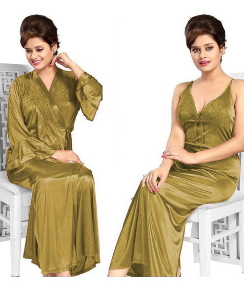 Buy Golden Nighty - FL-605 - Flourish 2 Piece Nightwear Online in Karachi, Lahore, Islamabad, Pakistan, Rs.{{amount_no_decimals}}, Nighty Sets Online Shopping in Pakistan, Flourish, Bridal Nighty, buy nighties online, buy nightwear in pakistan, casual nighty, cf-color-golden, cf-size-large, cf-size-small, cf-type-nighty-sets, cf-vendor-flourish, comfortable nighty, fancy nighty, flourish ladies night suits, flourish nightwear, flourish nighty, flourish pakistan, Honeymoon Nighty, imported nighty, Lace Nighty, latest nighty in pakistan, long nighty, net nighty, nighty grown, nighty islamabad, nighty karachi, nighty lahore, nighty online shopping, nighty pakistan, polyester nighty, Sexy Nighties, sexy nighty, shop nighty online, silk nighty, sleeping nighty, stylish nighties online, transparent nighty, wedding nighty, woo_import_2, Online Shopping in Pakistan - diKHAWA Fashion