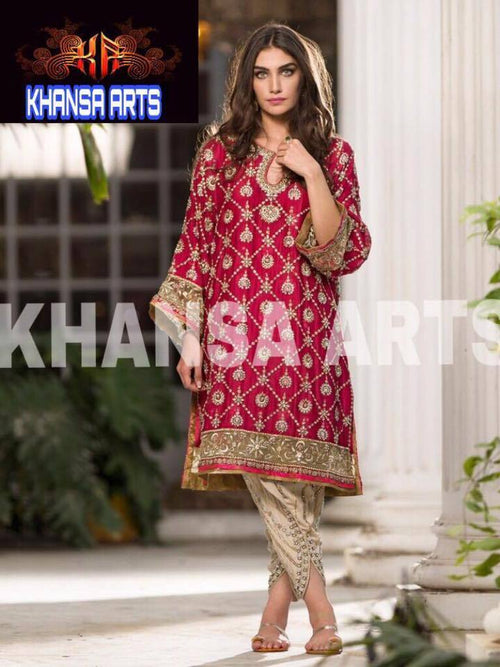 Khansaa Collection Chiffon Suit
