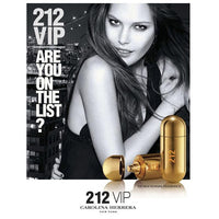 212 VIP Carolina Herrera Golden For Women - 80ml - Ladies Perfume - diKHAWA Online Shopping in Pakistan