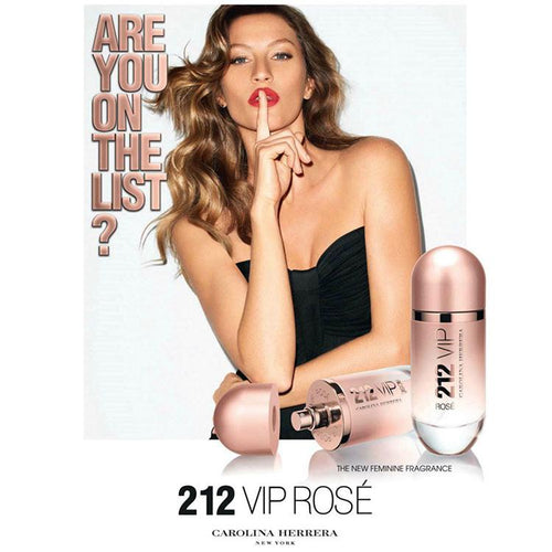 212 VIP Carolina Herrera Rose For Women - 80ml
