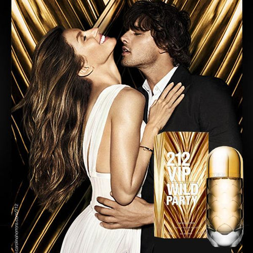 212 VIP Wild Party For Women Golden - 80ml