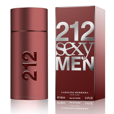 212 Sexy Men Carolina Herrera Eau De Toilette Spray – 100ml - Mens Perfume - diKHAWA Online Shopping in Pakistan