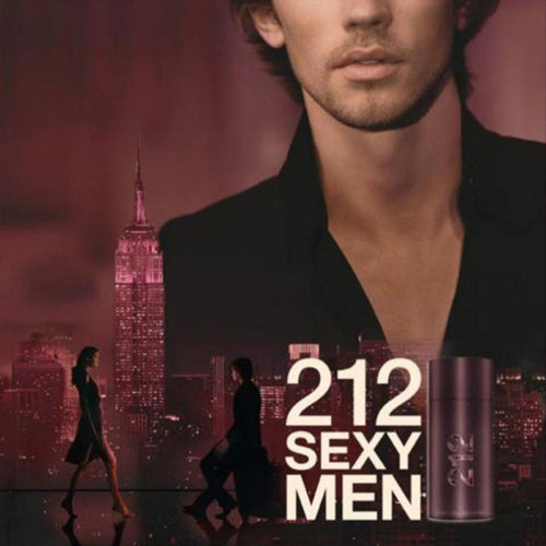 212 Sexy Men Carolina Herrera Eau De Toilette Spray – 100ml