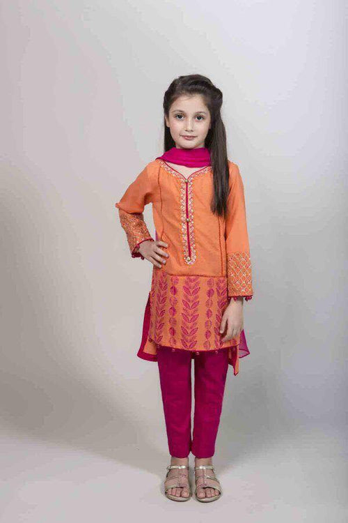 Maria B Kids Linen Suit, Ladies Replica Suit, Replica Shop Online