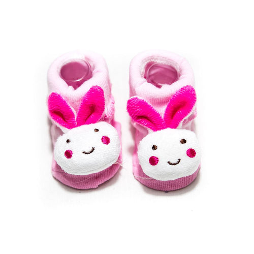 Newborn Baby Boy & Girl Shoes – 3 To 18 Months Kids – Pink - Baby Shoes - diKHAWA Online Shopping in Pakistan