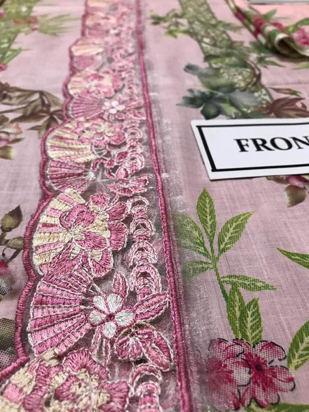 Elan Now Available Fabric Of Shirt Is Printed Lawn - Replica - Unstitched