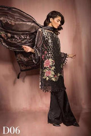 SOBIA NAZIR CHIFFON SUIT (Replica) (Unstitched)