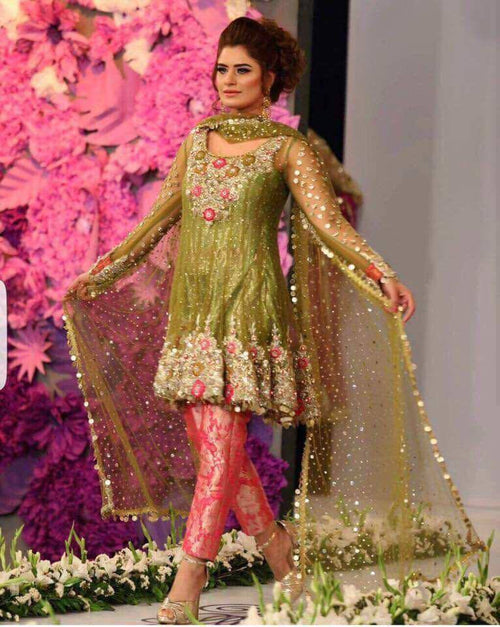 Kashees Bridal Chiffon Suit