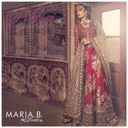 MARIA B SILK BRIDAL SUIT (Replica) (Unstitched)