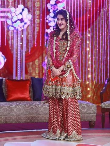 KASHEE'S NET BRIDAL SUIT - Replica - Unstitched