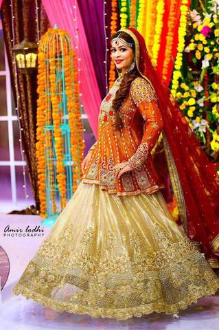 TENA DURRANI BRIDAL SUIT - Replica - Unstitched