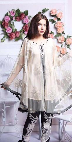 GUL WARUN CHIFFON SUIT - Replica - Unstitched