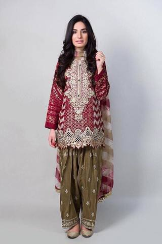 MARIA B CHIFFON SUIT - Replica - Unstitched