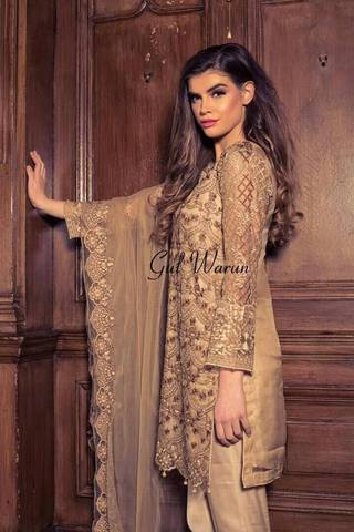GUL WARUN NET SUIT - Replica - Unstitched