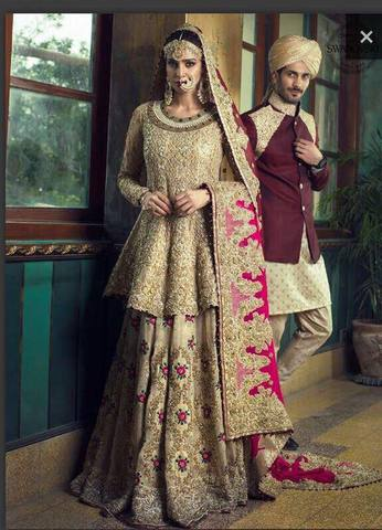 ZAINAB CHOTTANI BRIDAL SUIT - Replica - Unstitched