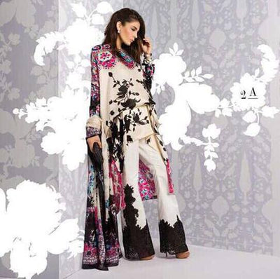 SANA SAFINAZ SILK SUIT - Replica - Unstitched
