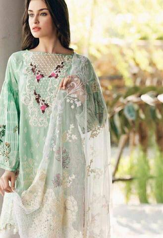 MAHIYMAAN LAWN SUIT - Replica - Unstitched