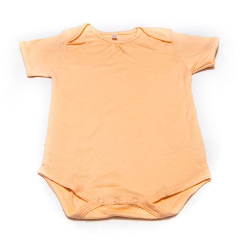 Newborn Baby Boys Girls Romper Baby Suits For 12 To 18 Month Kids – Orange - Romper - diKHAWA Online Shopping in Pakistan