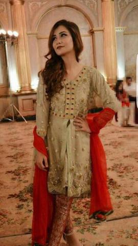 IRFAN AHSAN CHIFFON SUIT - Replica - Unstitched
